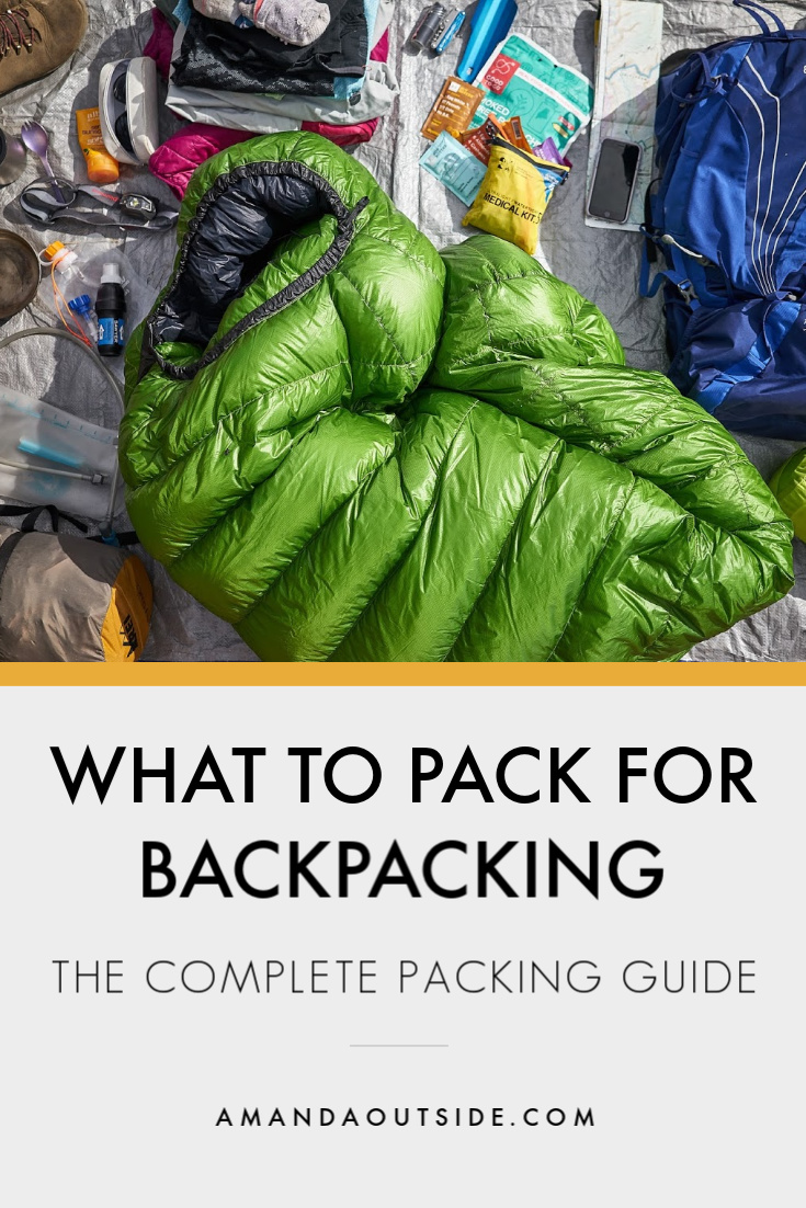 If you're new to backpacking, this is a great place to start! Click through for the 17 things you need to pack on your backpacking trip along with tips for beginner backpackers.