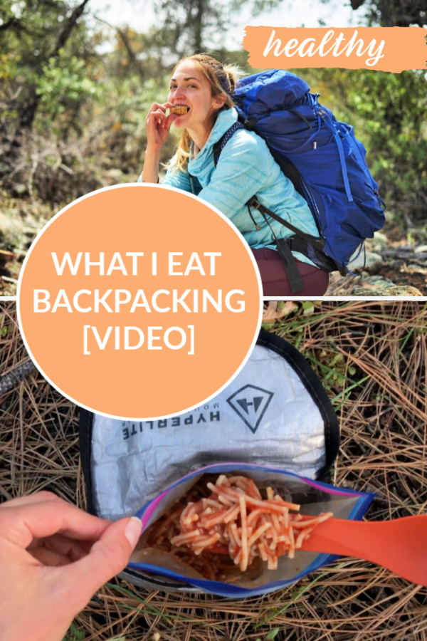Homemade and Healthy Backpacking Food