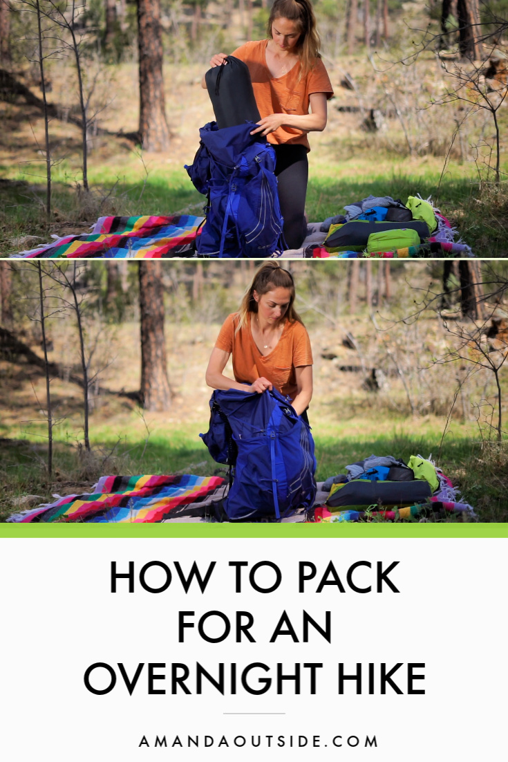If you're a beginner backpacker, click through to learn exactly how to pack your backpack correctly! Packing correctly is really important. Get all the tips and a complete video tutorial. #backpacking #backpackingtips #outdoors