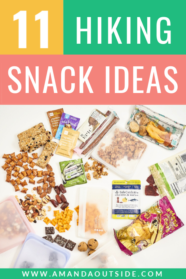 11 HIKING SNACK IDEAS - click through for some new snack ideas for your next hike! #hiking #hikingtips #hike