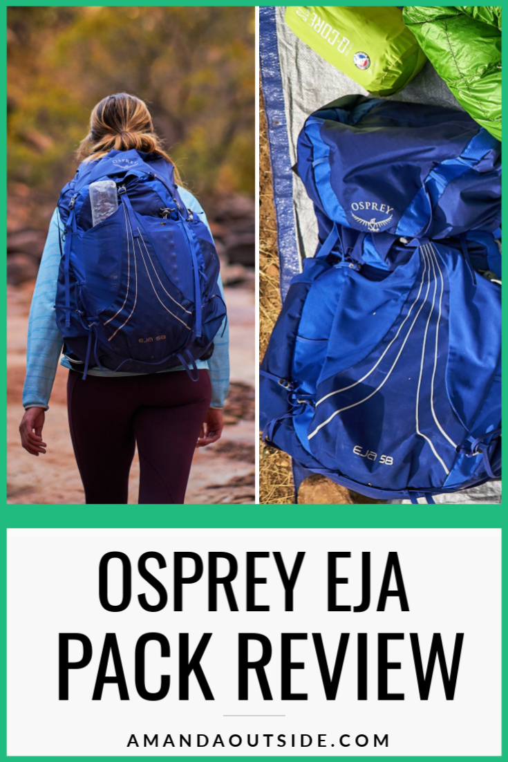 Wondering about the ultralight Osprey Eja backpack? Click through for a complete review and some pros and cons of this backpack. #backpacking #backpackingtips #backpackinggear