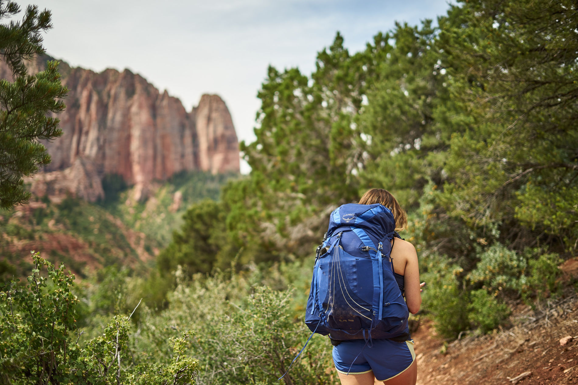 Amanda Outside backpacking blog - you're go-to source for hiking and camping. Click through to learn all about backpacking in Kolob Canyon and how to plan your trip. www.amandaoutside.com