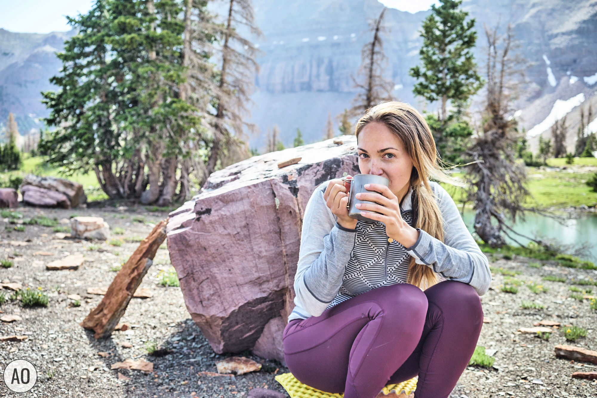 What is the best way to make backpacking coffee? Click through to learn 4 different methods of making coffee in the backcountry and the pros and cons of each! By www.amandaoutside.com - your source for backpacking tips and inspiration. #coffee #backpacking