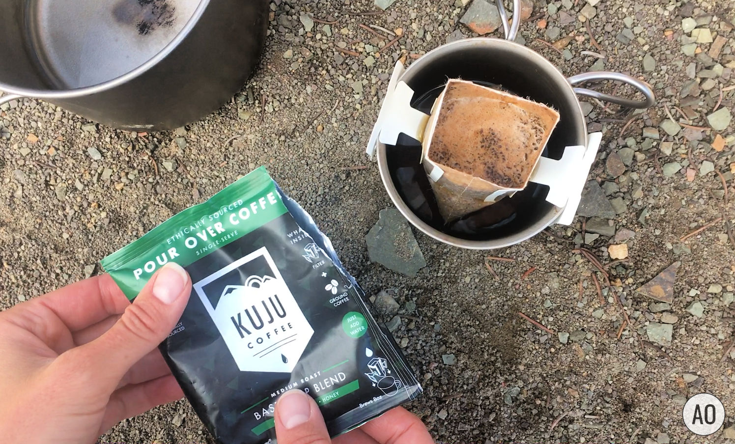 Looking for an easy way to make backcountry coffee. This blog post shows you how to make backpacking coffee 4 ways. Whether you want a rich fresh brewed cup of coffee, or you're just after the caffeine, this post has got a method for you! www.amandaoutside.com