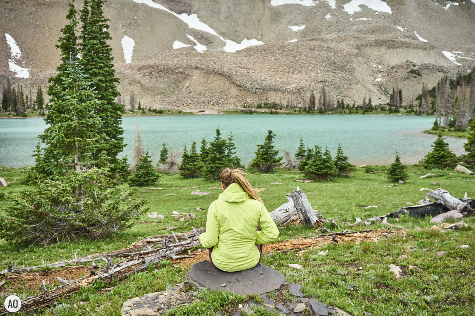 A peaceful moment in the backcountry. If you've ever wondered what it's like to go backpacking, check out this backpacker lifestyle post where I show you exactly what it's like to have a day off in the backcountry. www.amandaoutside.com