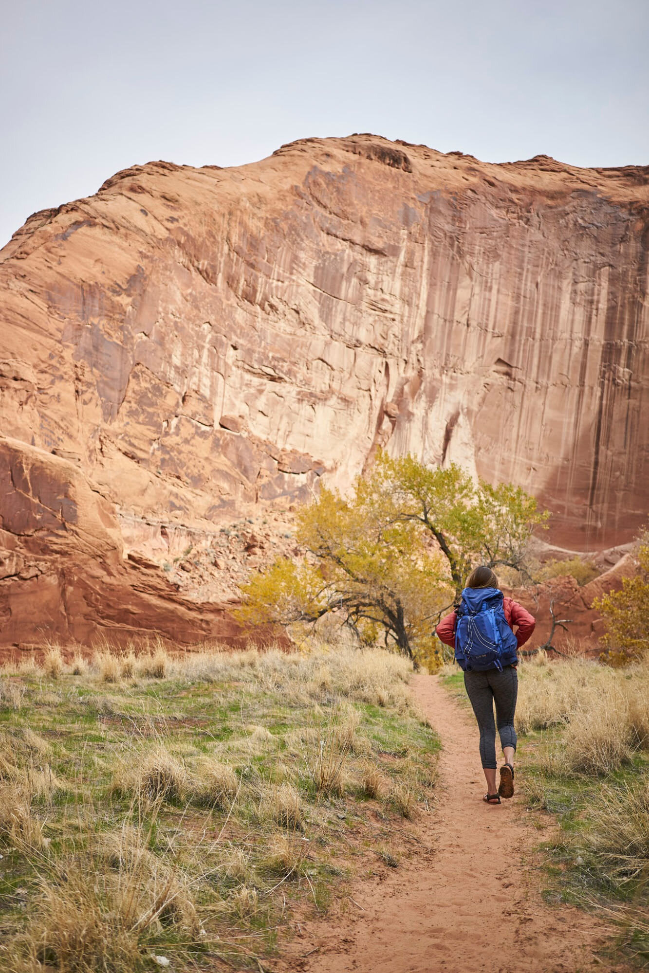 Amanda Outside hiking blog - the complete guide to backpacking Coyote Gulch in Utah. Coyote Gulch is a classic backpacking trip in Utah. Click through for the complete guide. www.amandaoutside.com