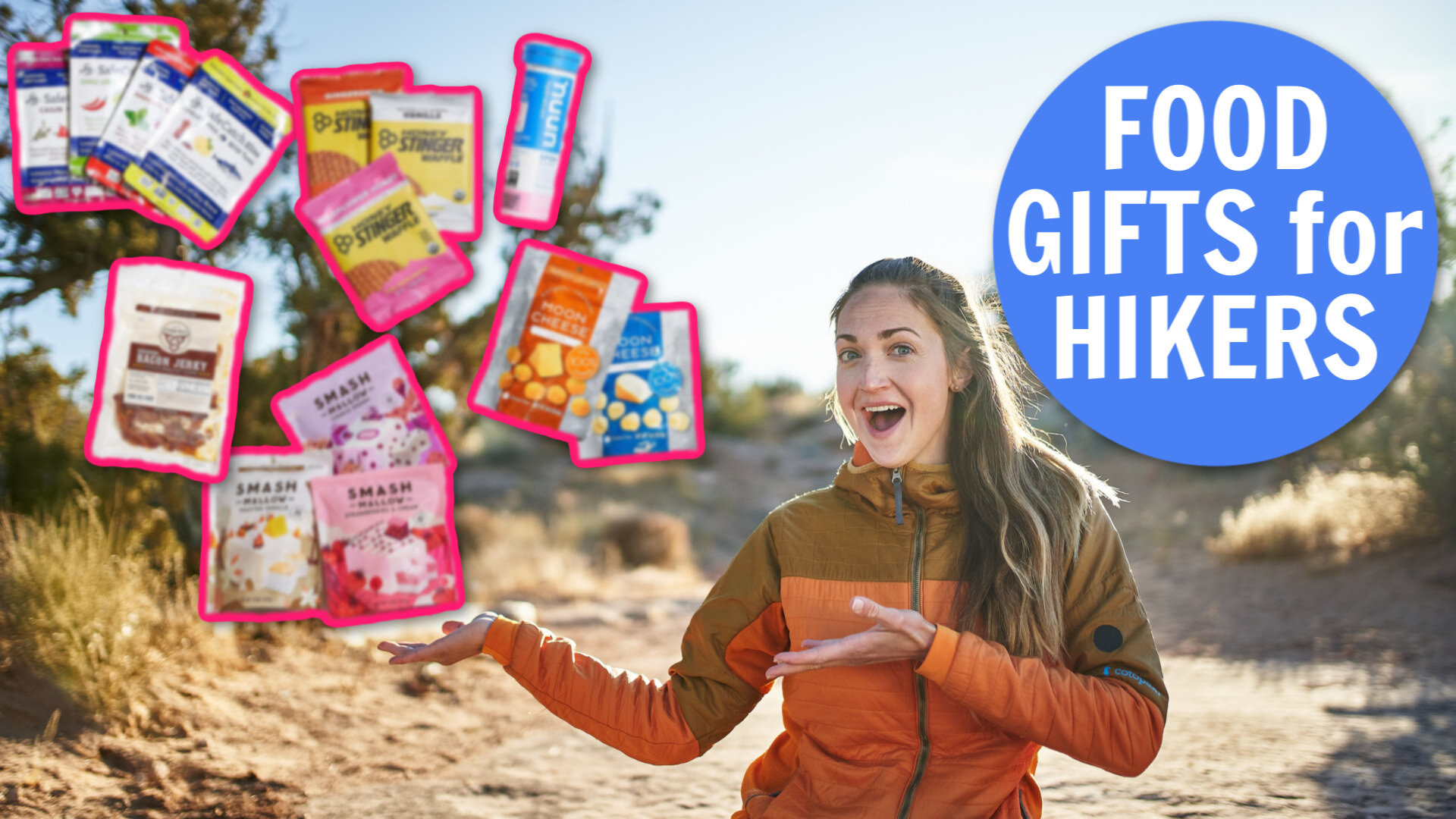 Food Gifts for Hikers and Backpackers