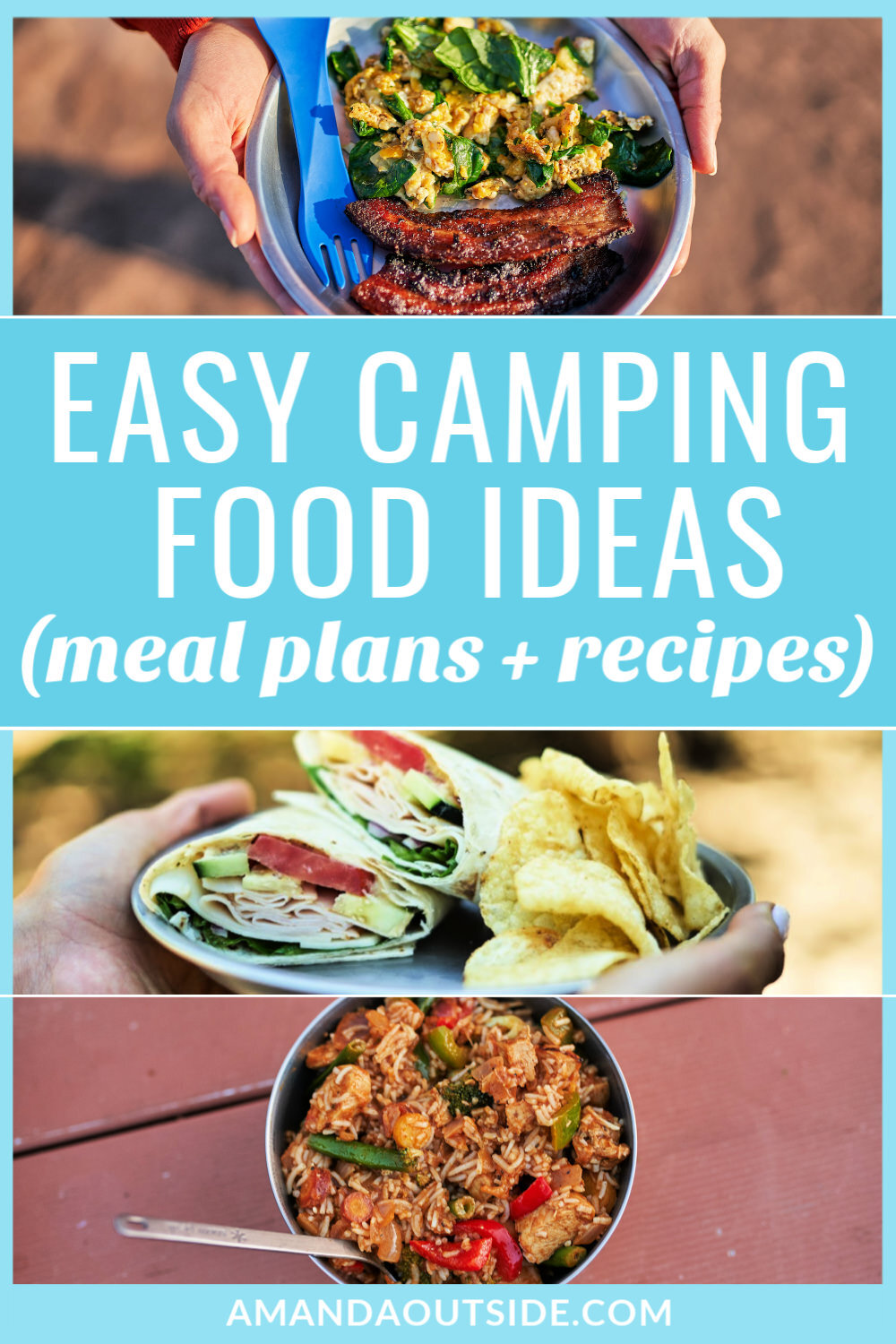 What To Eat When Car Camping Recipes And Meal Plans Amanda Outside