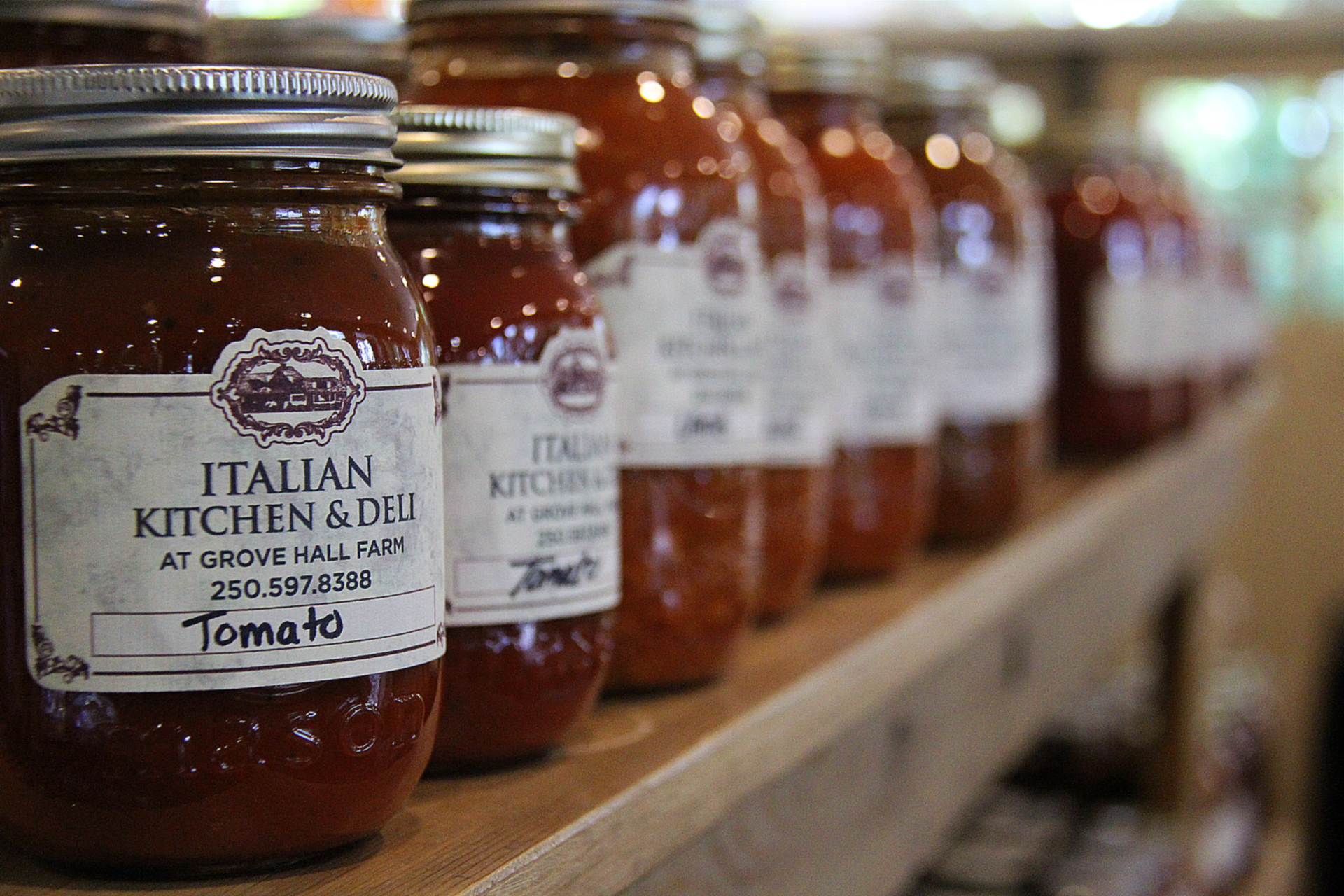 About - Find out about ourmission, our methods, and the family behind the Italian Kitchen & Deli.