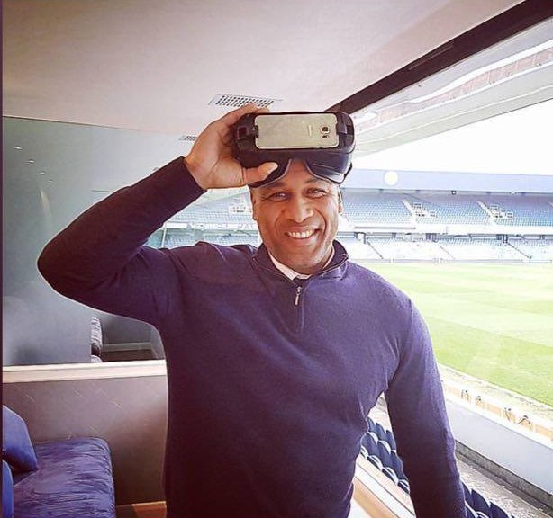 OM-VR ( Other-Mind Virtual Reality). - This project uses VR to immersively share mindful descriptions of moments in someone's life. The first video in the series allows you to share the moments before Les Ferdinand first played football for England. Video link coming soon…Collaboration with FRED & Grenfell Health & Wellbeing Service