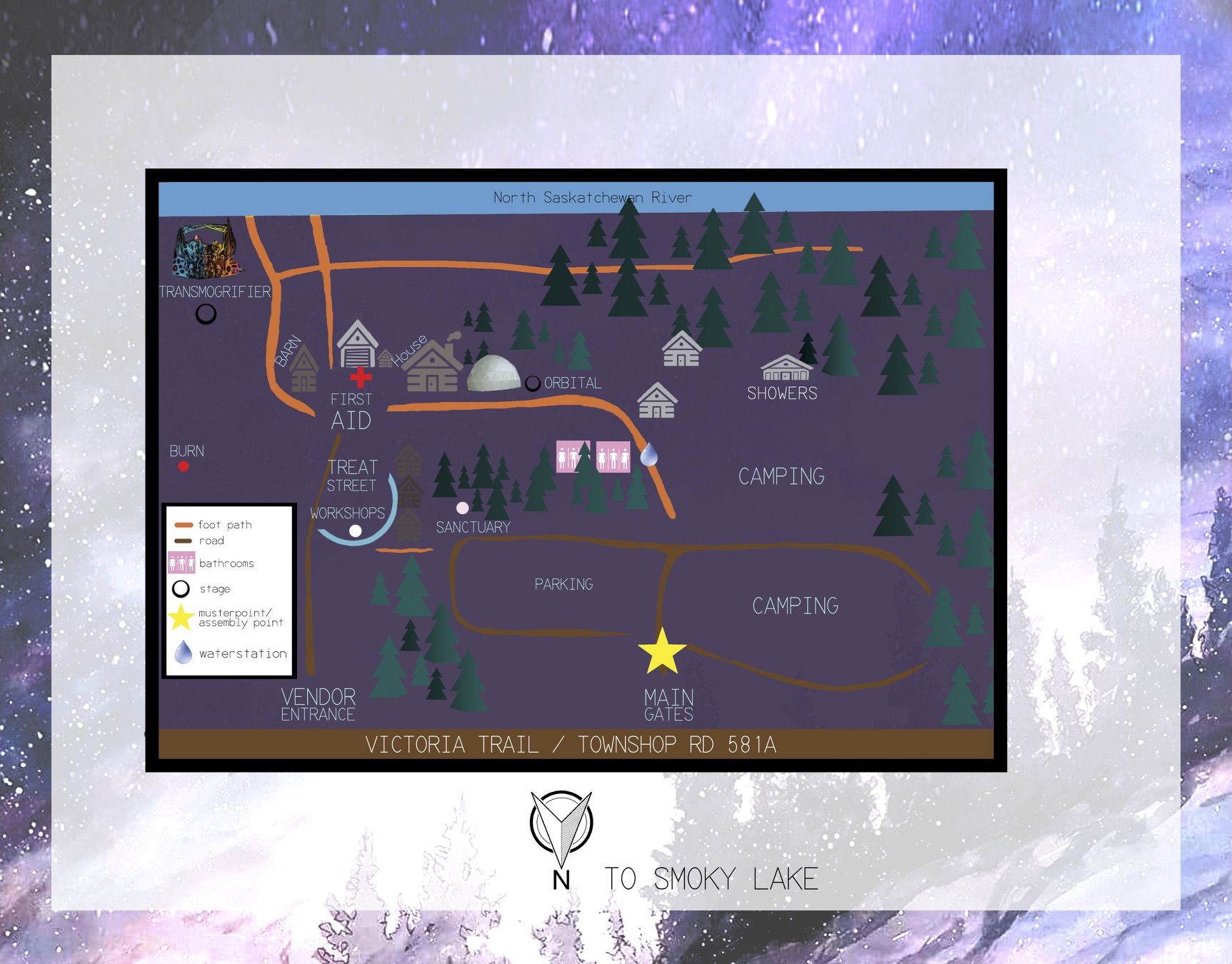 Odyssey Gathering 2018 MAP