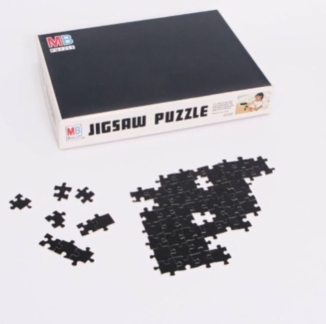 Black Puzzle, Edition of 15. $200