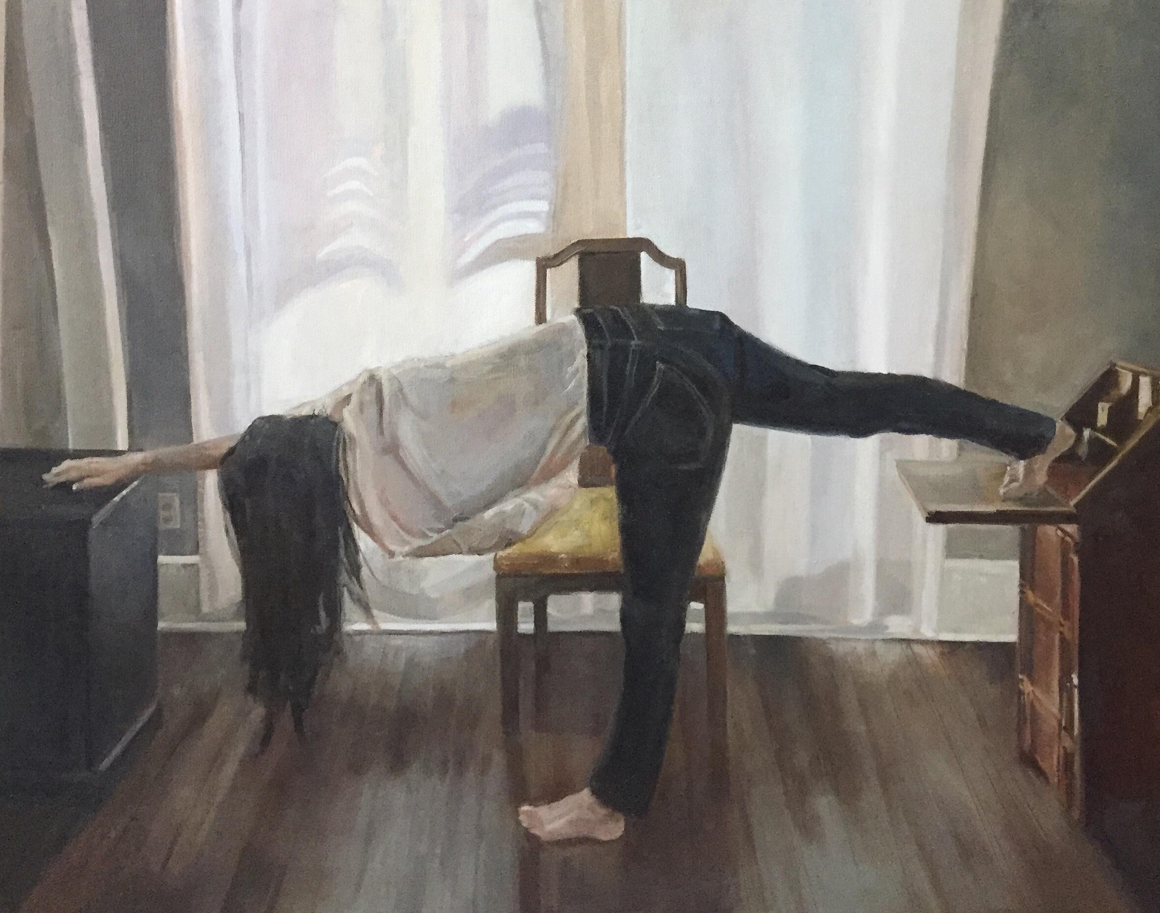 Me in the bedroom, 2018.