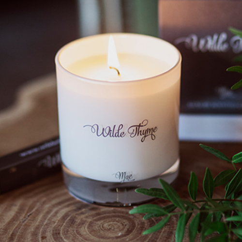 Mae   LIGHT FLORAL  If you love the scent of wisteria as it tumbles off walls in May, you will love this fragrance. We have captured its delicate freshness so it fills the room with the vitality of early Summer.