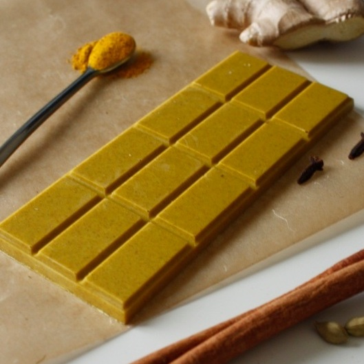 Turmeric of a Goat Thing Bar  Photo credit: WKND Chocolate