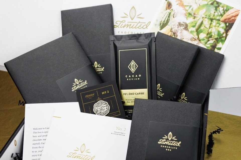 Cacao Review Limited Chocolate Box Collection