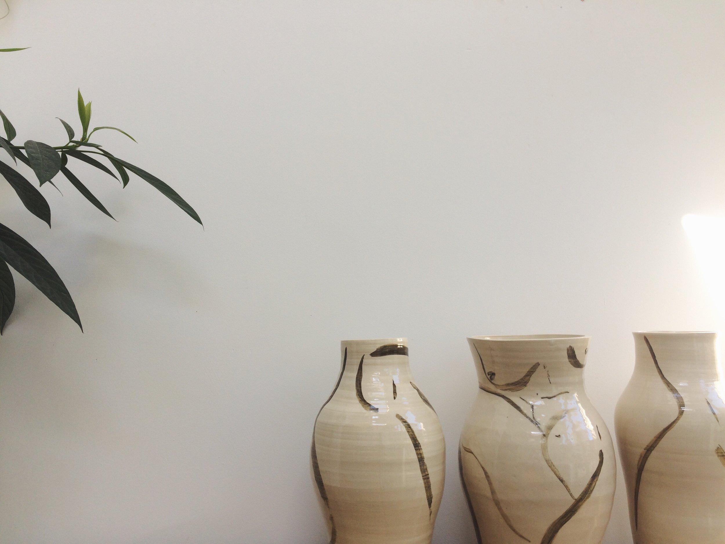large vases