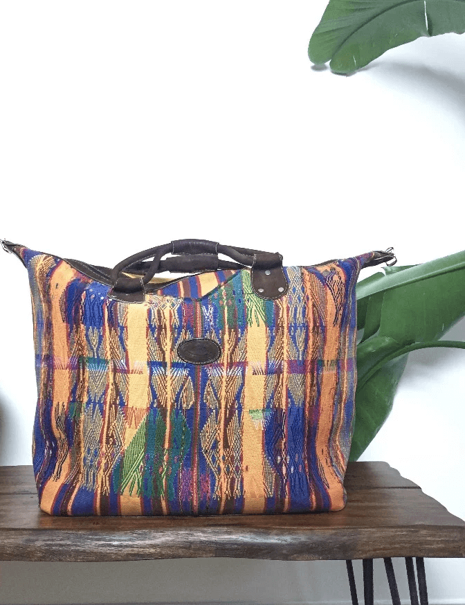 Souk Bohemian Guatemalan Travel Bag