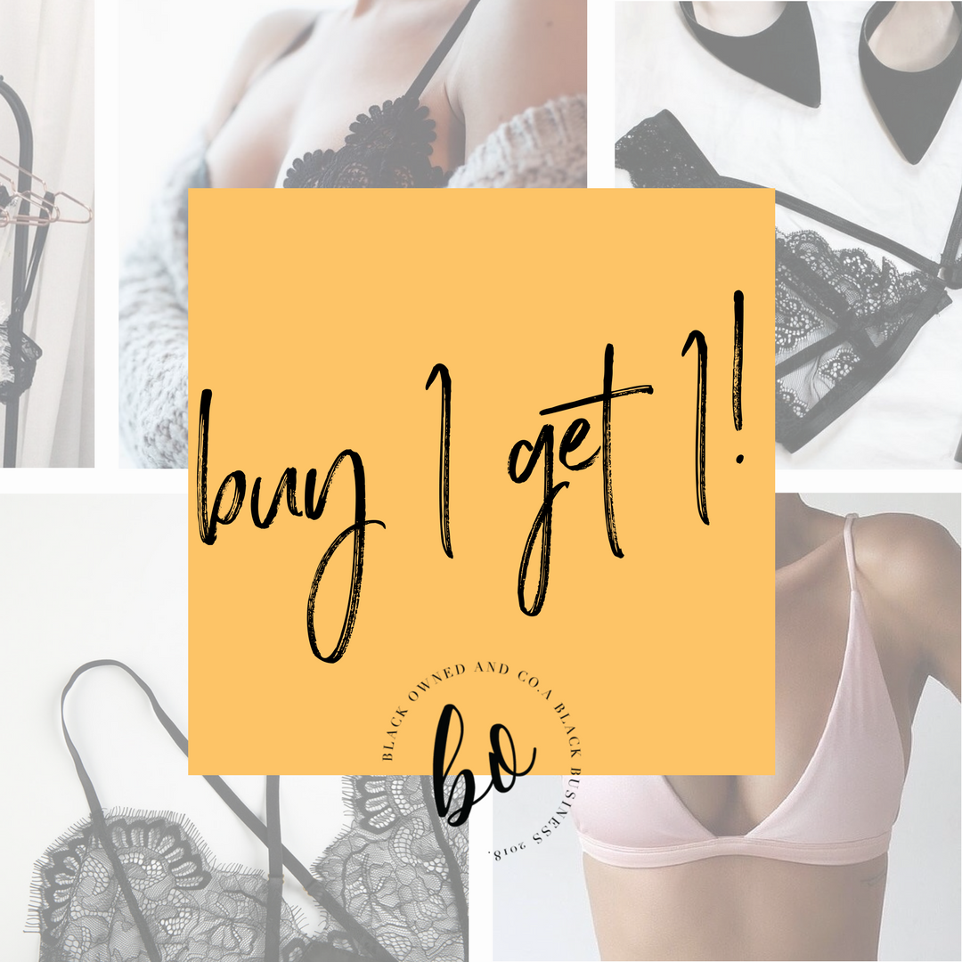 It's A Sale! - Guess what?!?! Underthing Shop is having an Anti-Valentine's Day Sale!Thursday, February 15th to Monday, February 19th at 11:59pmbuy one bra, get a panty free.