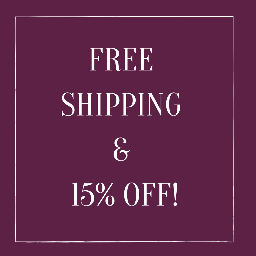 VALID TILL 3/31 - FREE SHIPPING &TAKE 15% OFF YOUR PURCHASE WITH CODE : BLKOWND