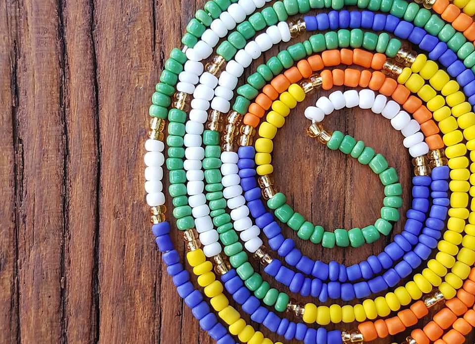 Alaiyo Waist beads - By the seashore