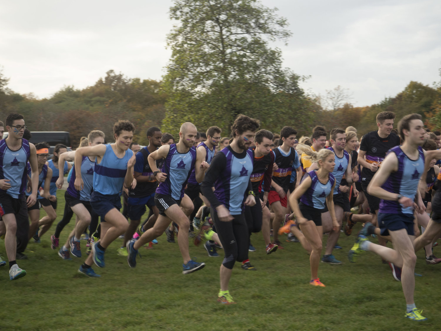 Mixed Running - Kindly Sponsored by DLA Piper