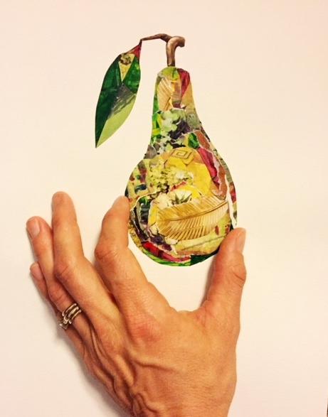 Partridge in a Pear tree 4x7