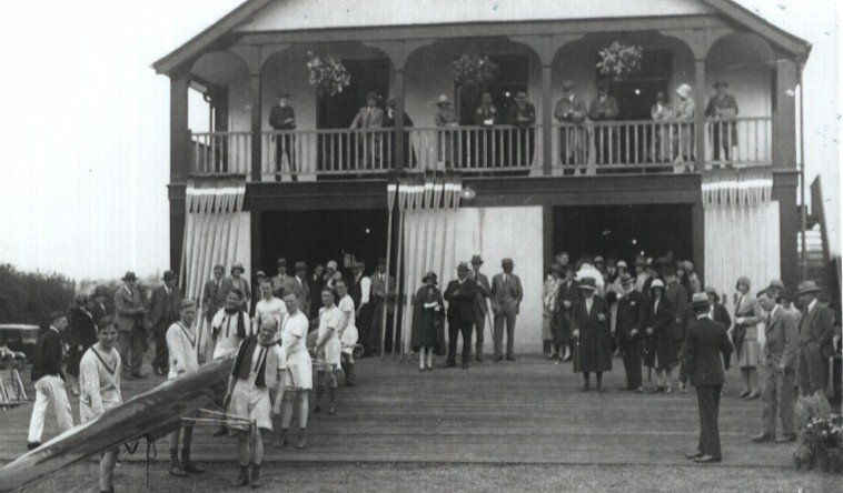 RUBC new boathouse, early 1930's.
