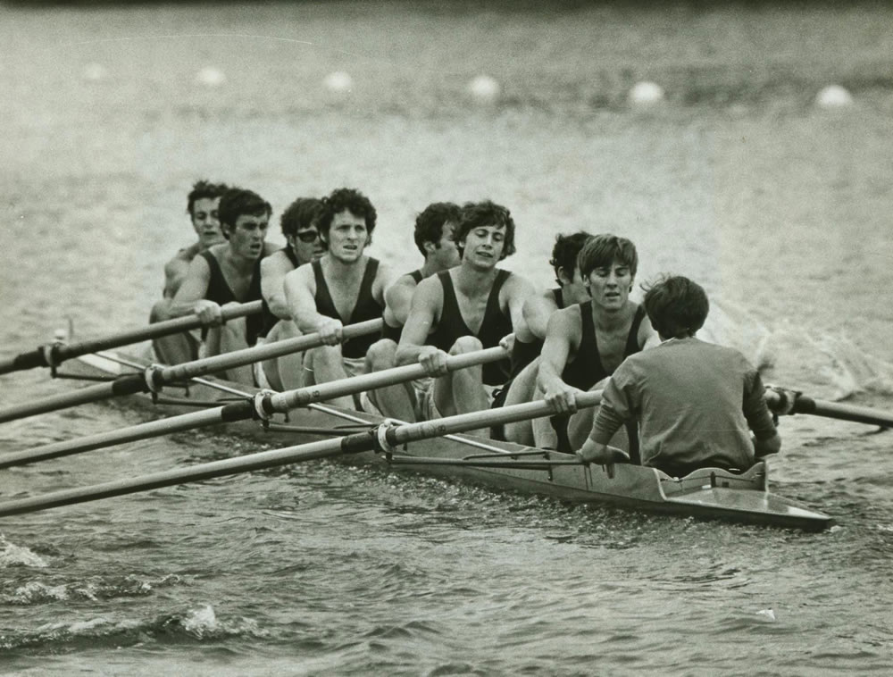RUBC make the semi finals at Henley, 1970.