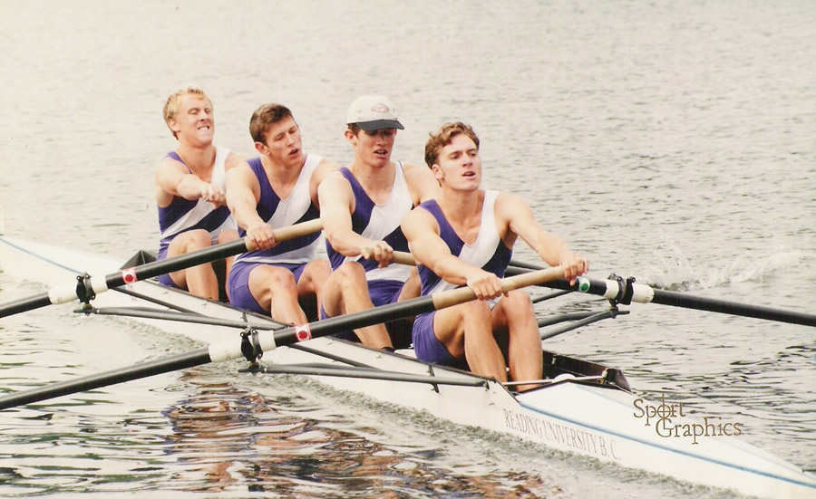 The Visitors 4- racing at Henley Royal Regatta 1996 .