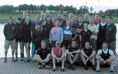 RUBC come second at the BUSA regatta, May 2005.