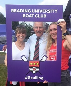 Reading University's Chancellor, Lord Waldegrave, joins us to cheer on the crews at Nat Schools