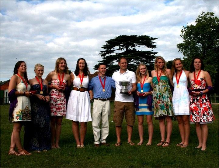 2011 - Reading University winners of the Academic 8's at Henley Women's Regatta