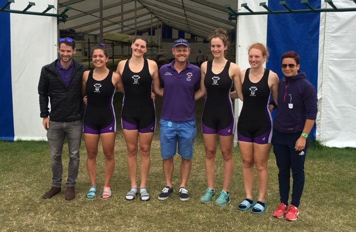 2017 - RUBC women make the Semi-final at HRR