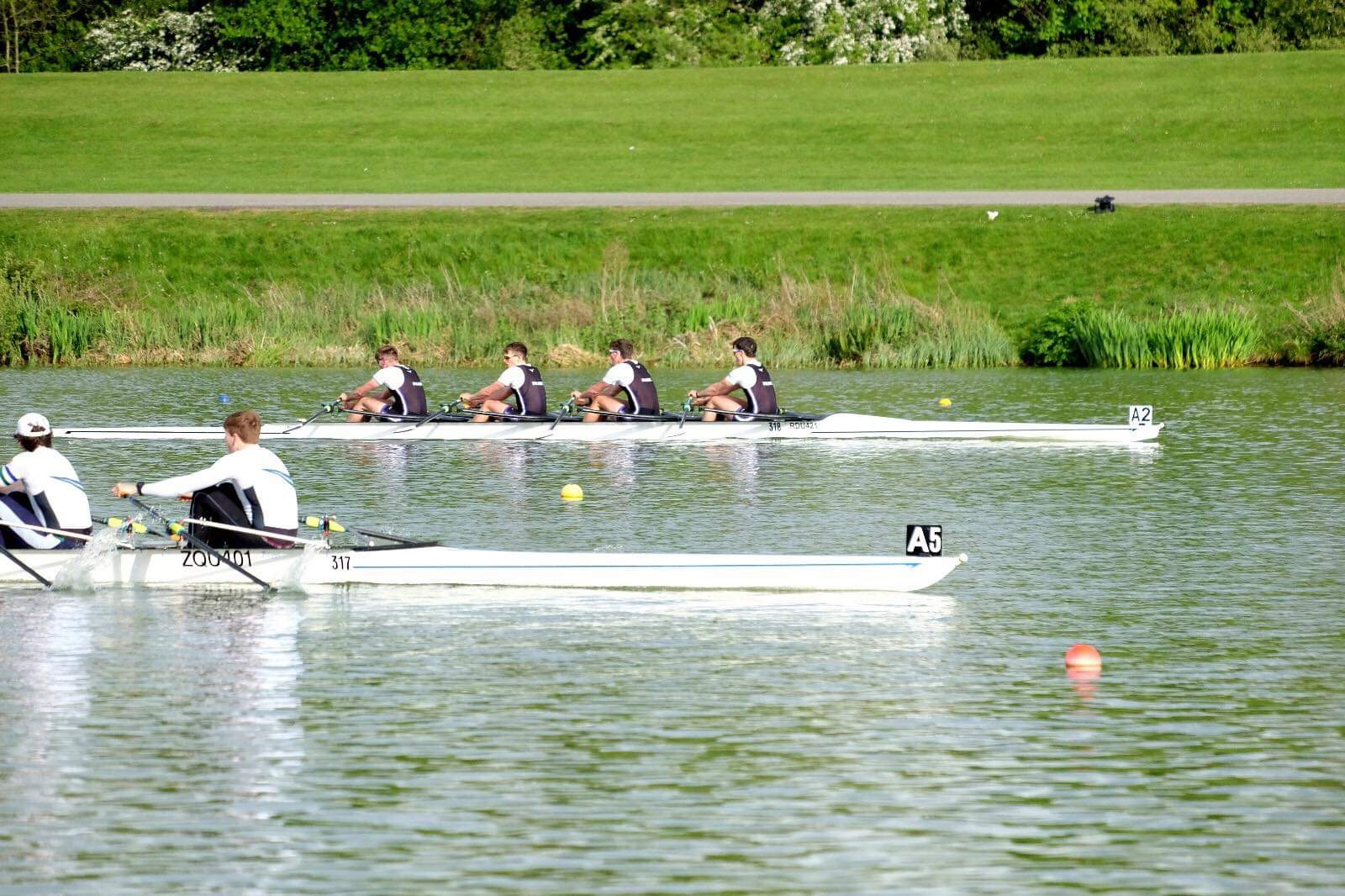 The Men's Championship 4x: George, Sean, Luke and Ed