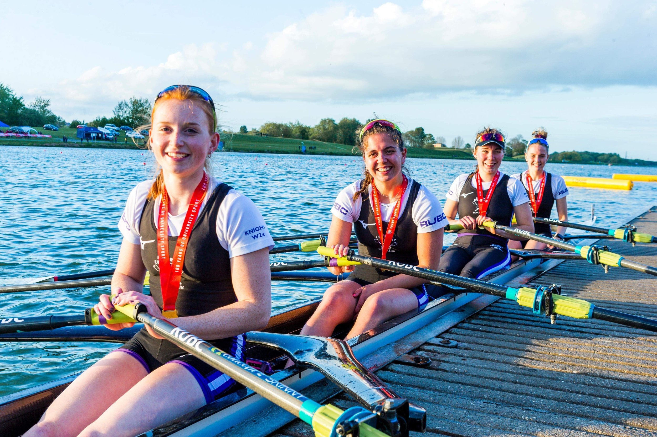 Women's Championship 4x at BUCS Regatta 2019 - 1st