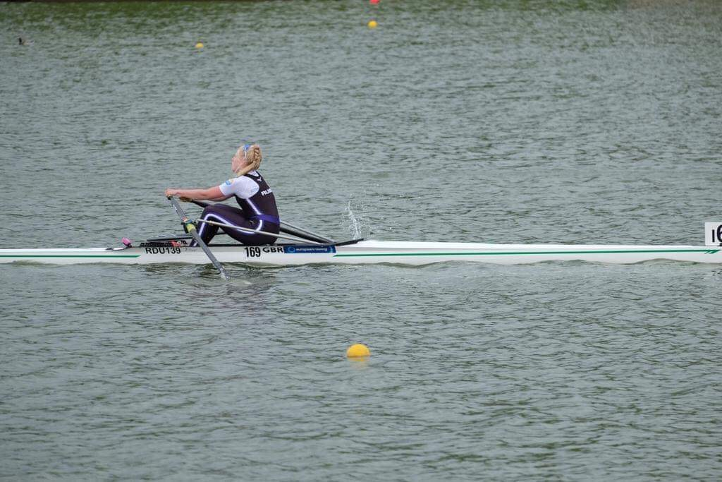 Franky Bailey Tait - Lightweight Single - 2nd in the B final.