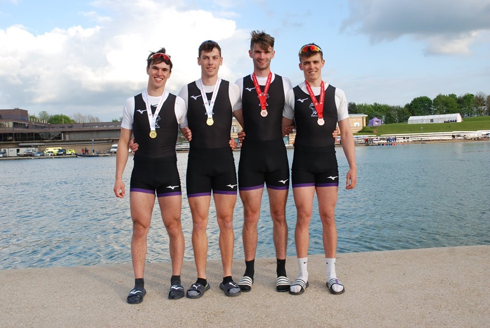 Men's Championship 4x at BUCS Regatta 2019 - 4th.