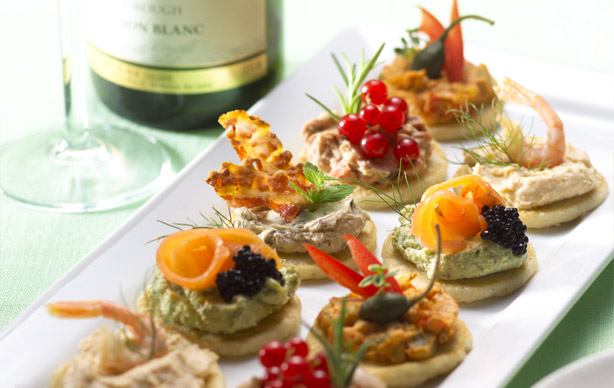 Canapes & Blinis