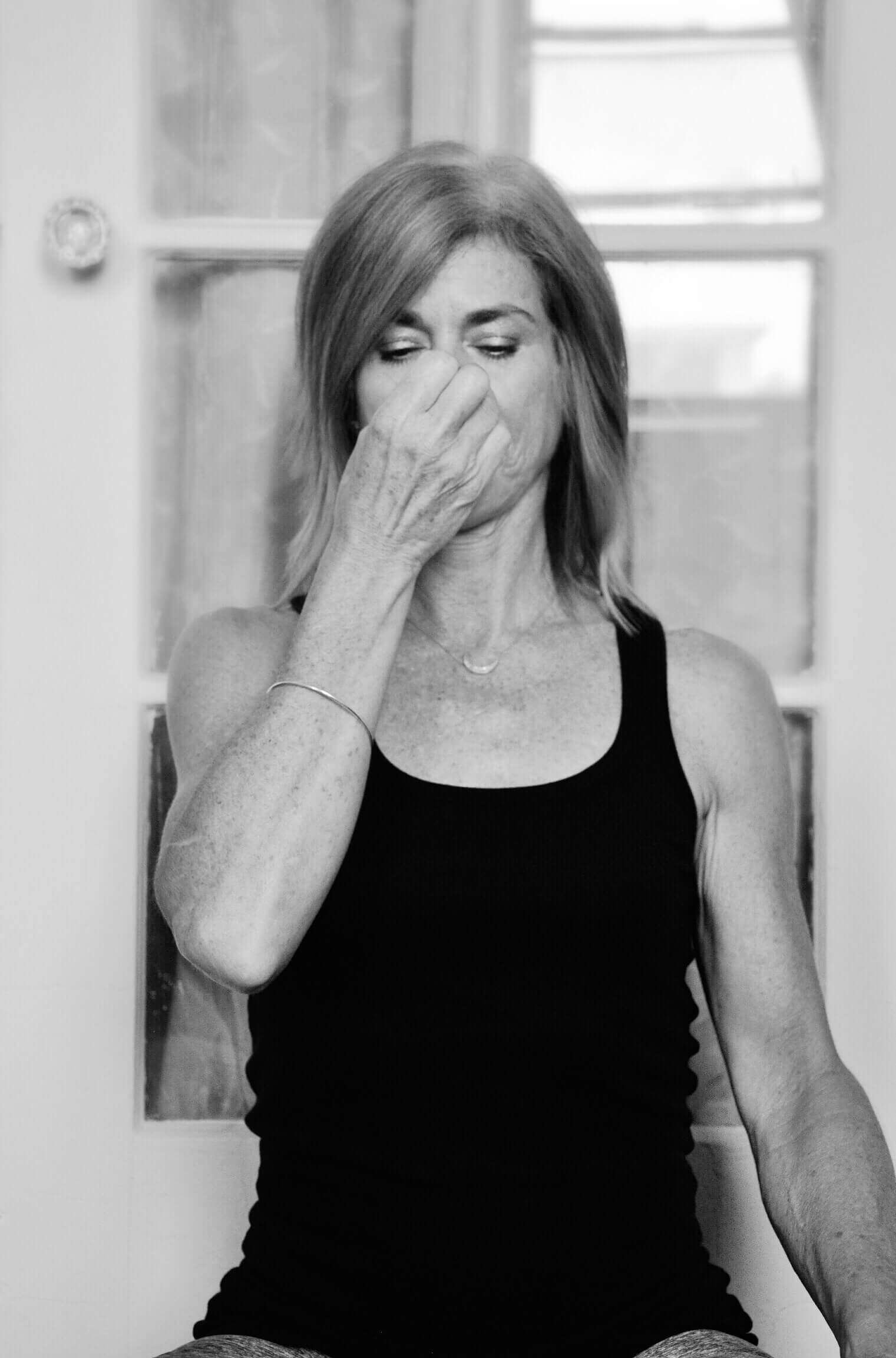 Breath practices keep a mamma centered and calm.