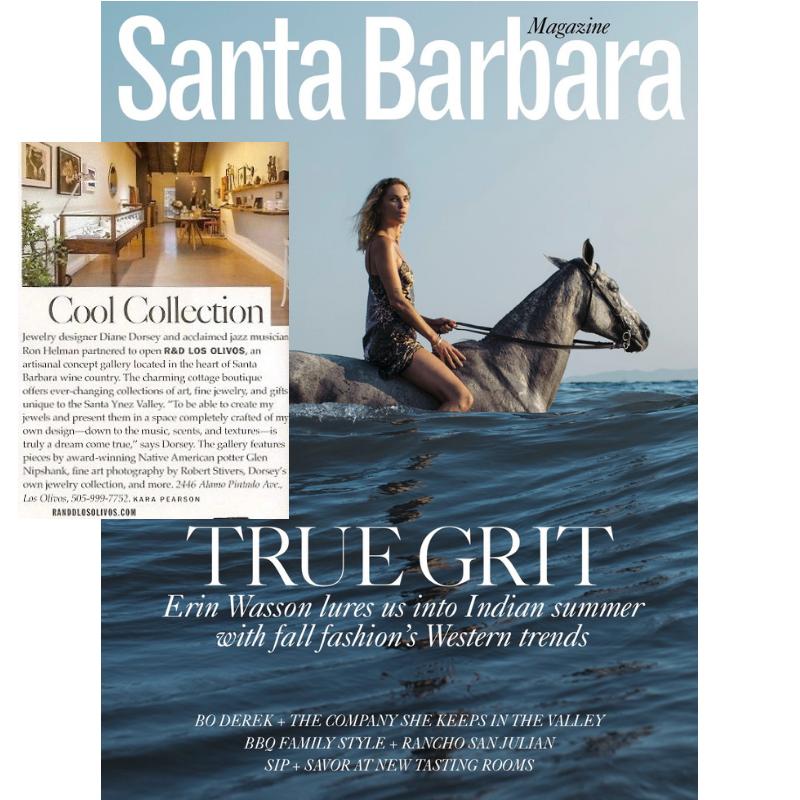 Santa Barbara Magazine R&D los olivos
