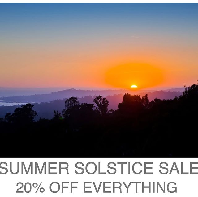 Celebrate Summer... 20% off everything at R&D.  This weekend only. Phone orders welcome... 505.999.7752. . . . #summersolstice #losolivosca #randdlosolivos #santabarbara #handcrafted #finejewelry #artisanjewelry