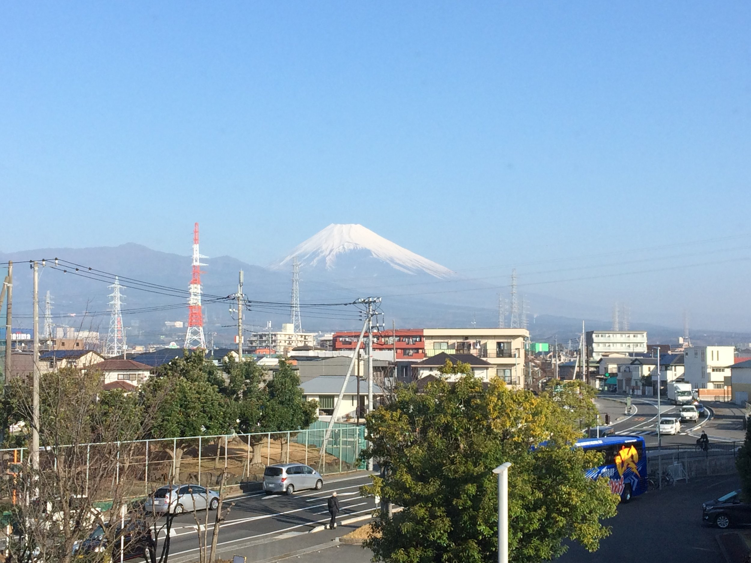 We enjoyed a beautiful view of Mt. Fuji ever morning during breakfast before the first session of the day.