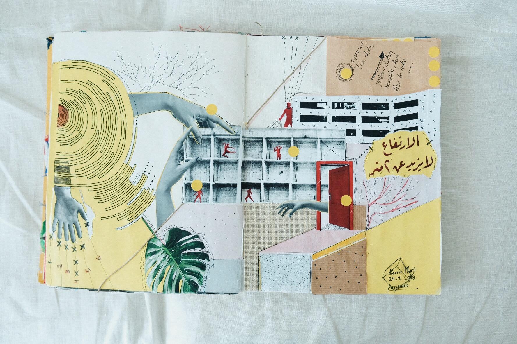 Work of Yazan Setabouha intersecting with Reem Marji