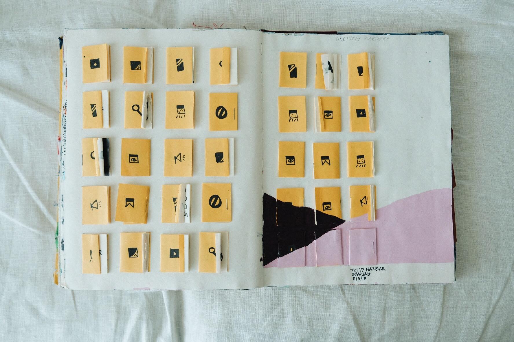 Work of Zain Mahjoub intersects with Tulip Hazbar
