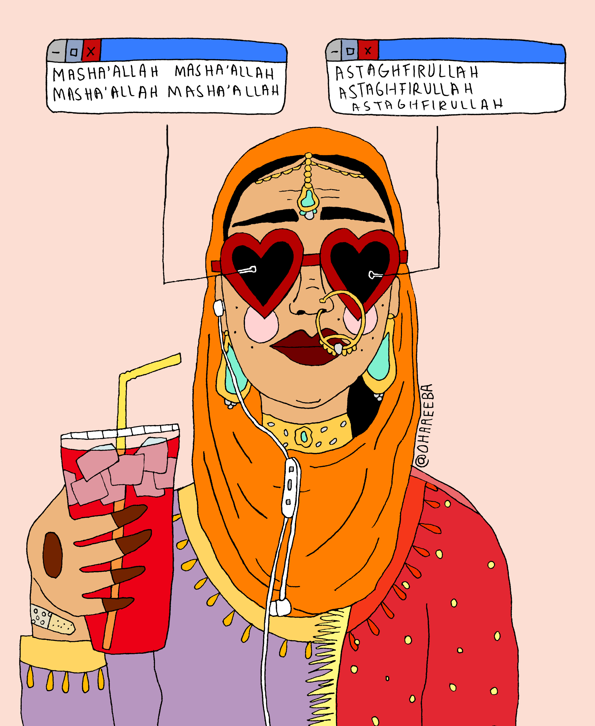 """""""Crush"""" by Areeba Siddique courtesy of Variant Art Space"""