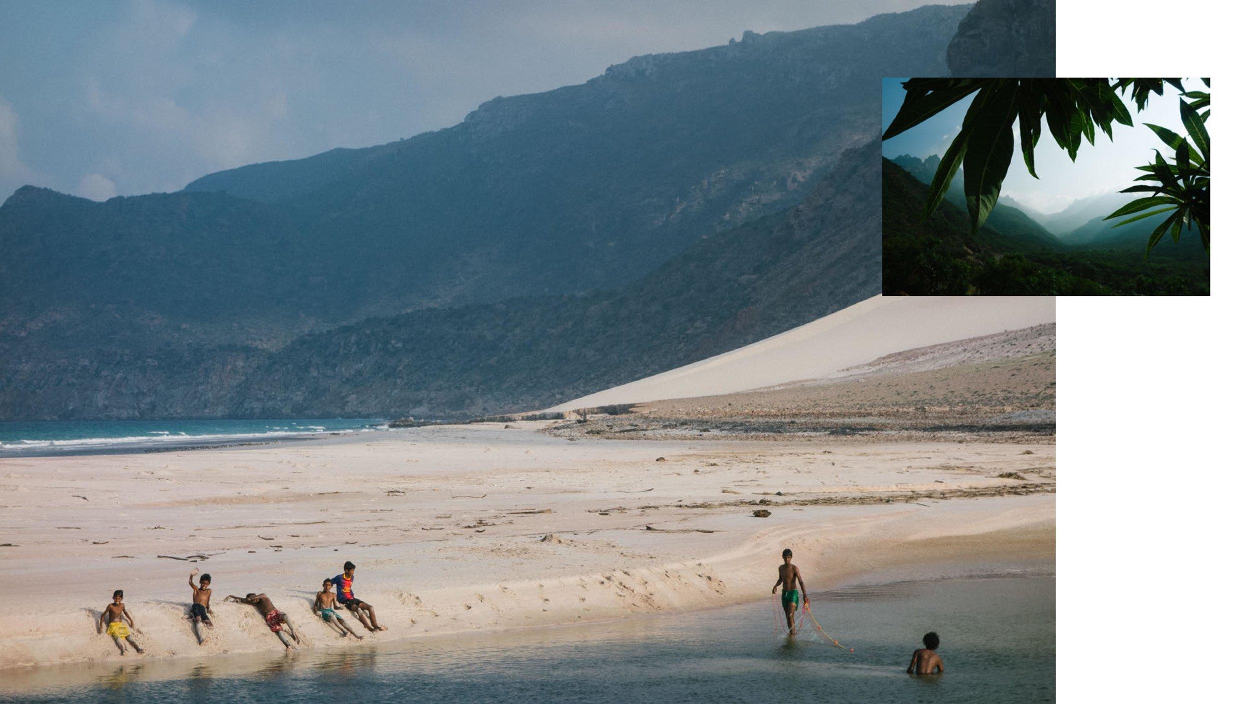 Images of Socotra, Yemen by Yumna Al Arashi. Courtesy of the artist.
