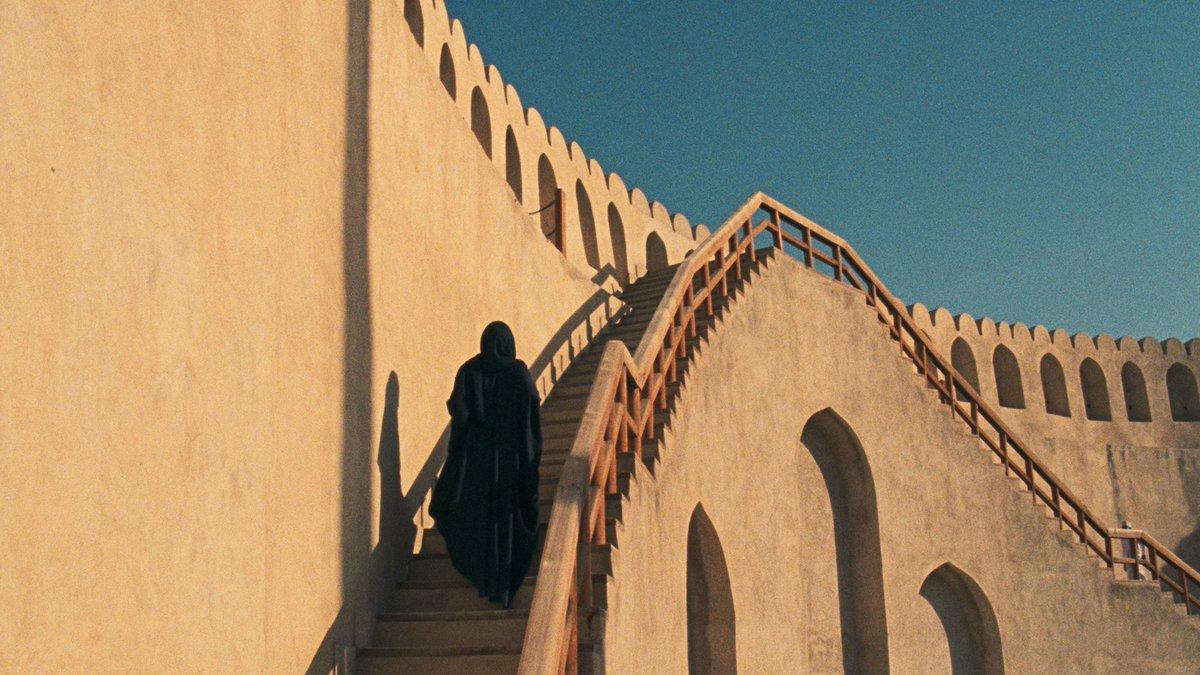 Still from Yumna Al Arashi's short film,  99 Names of God . Courtesy of the artist.