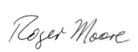 Roger Moore  Senior Warden