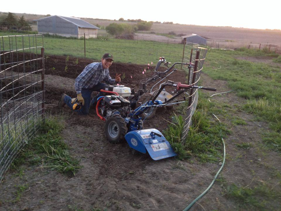 Farmers like there machinery, I don't think there is much of an argument about what my favorite tool on the farm is.